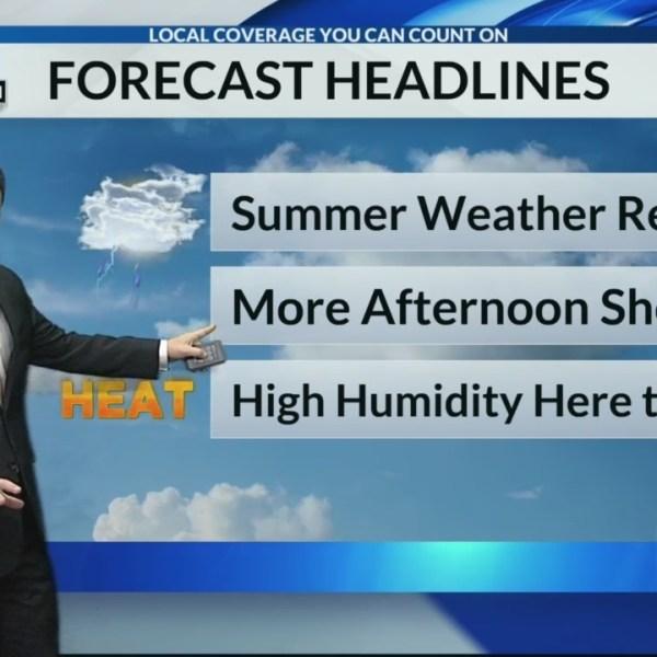 6/16/19 Sunday Morning Forecast
