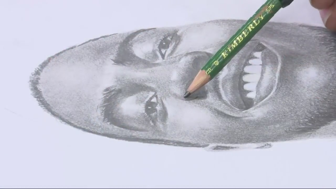 A look at the Pencil Man who inspires others through art