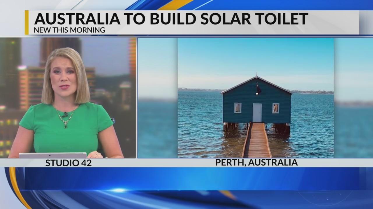 Australia to install $278,000 solar toilet