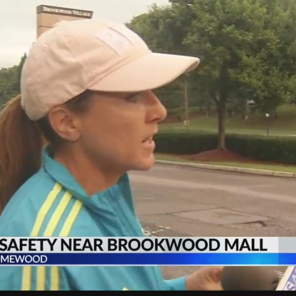 Jogger safety near Brookwood mall Live interview with Homewood city council member