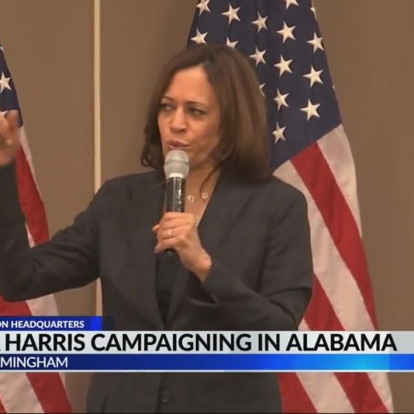 Kamala Harris Campaigning in Alabama