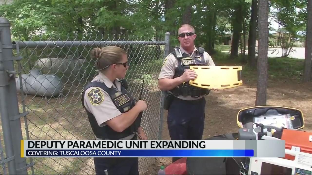 Tuscaloosa County deputy paramedic unit expanding