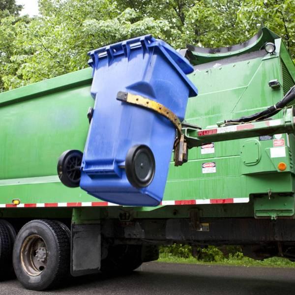 Trash pickup_stock