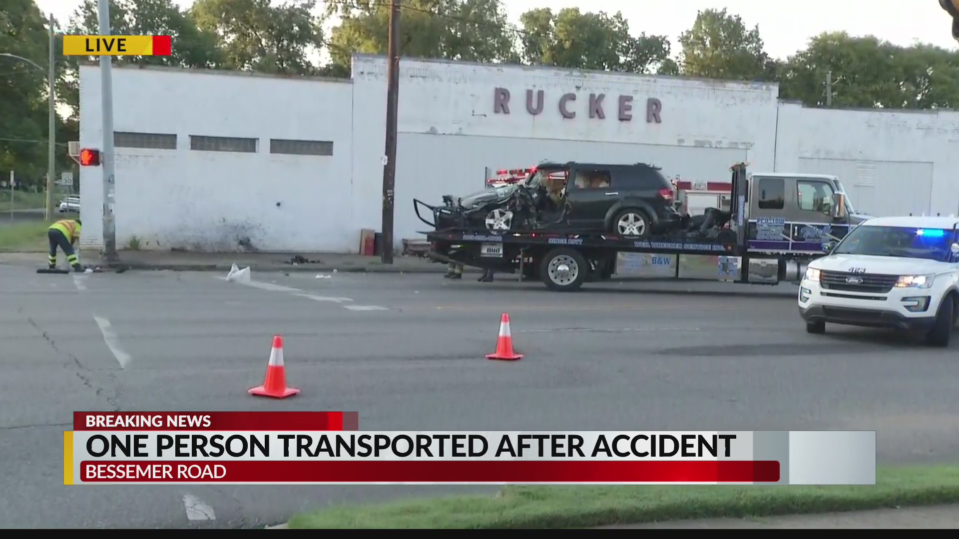 Driver sustains minor injuries after car accident | WIAT