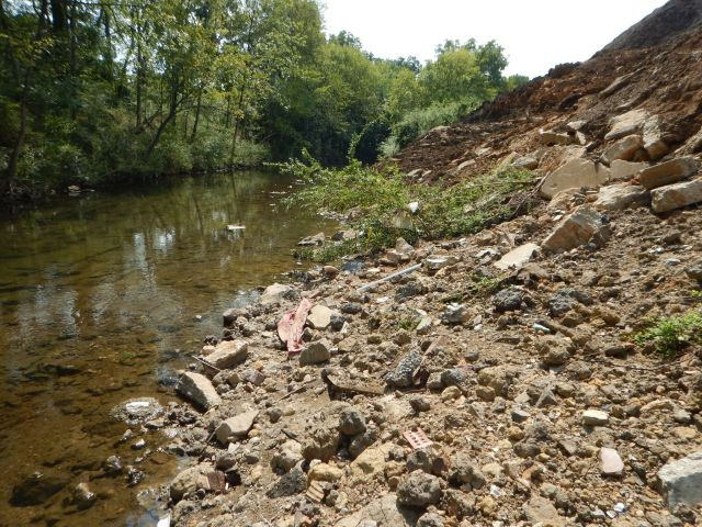 Contaminated soil along north Birmingham creek raising concerns