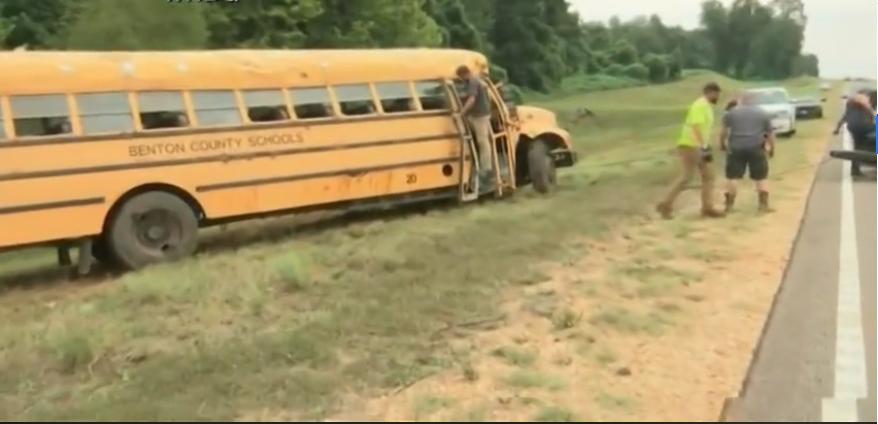 Driver dies, multiple children injured in school bus crash