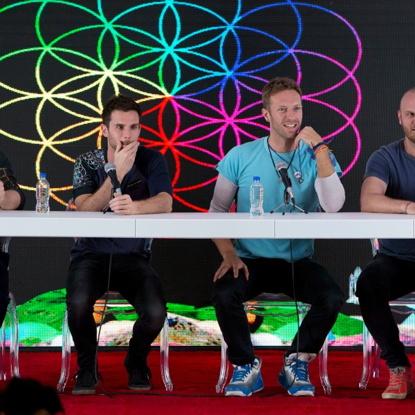 Jonny Buckland, Guy Berryman, Chris Martin, Will Champion
