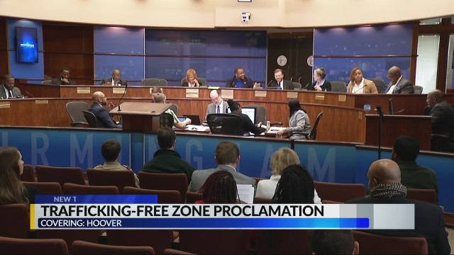 City of Hoover set to become trafficking-free zone