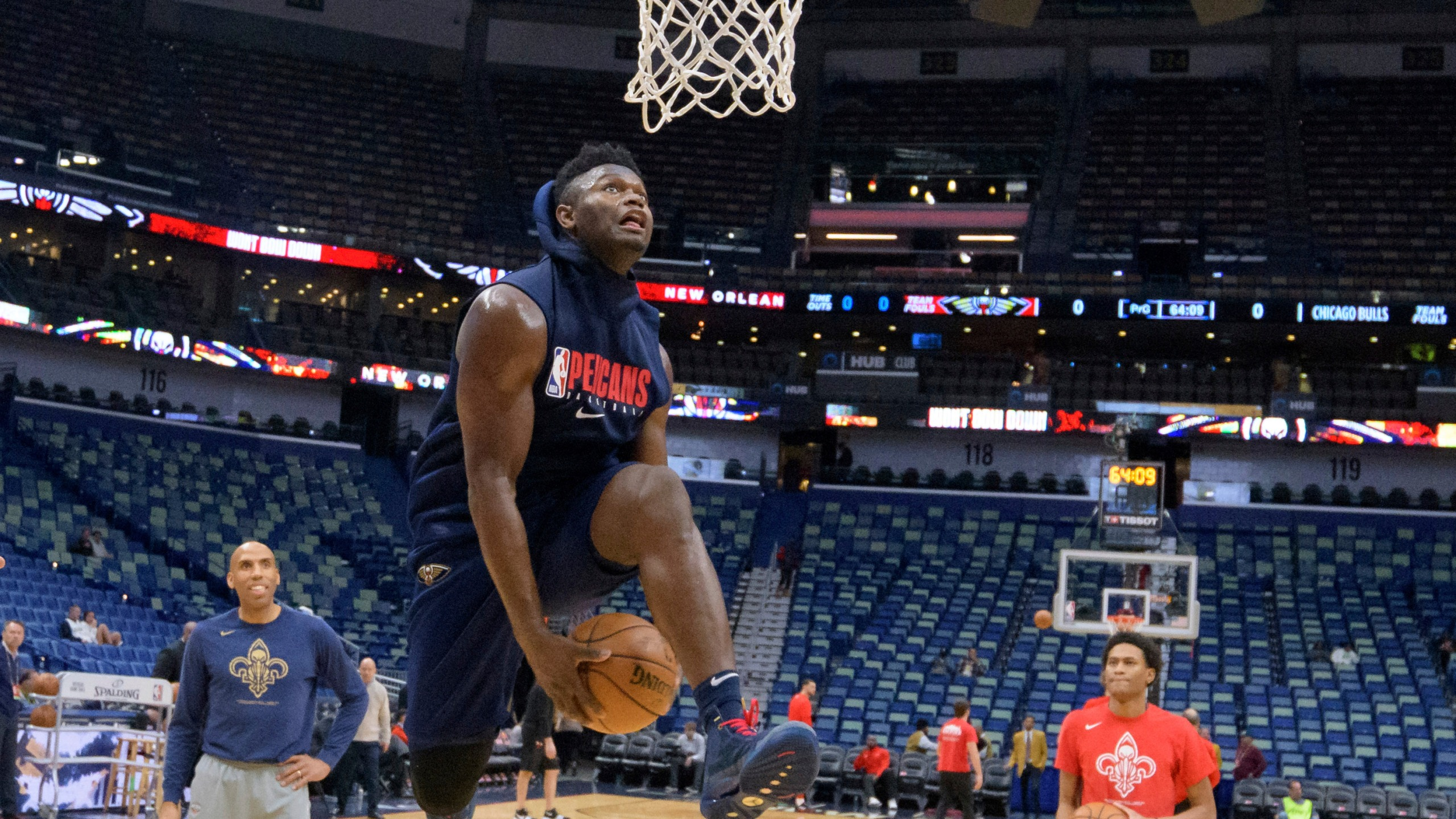 Griffin Pelicans Project Zion Williamson Debut For Jan 22