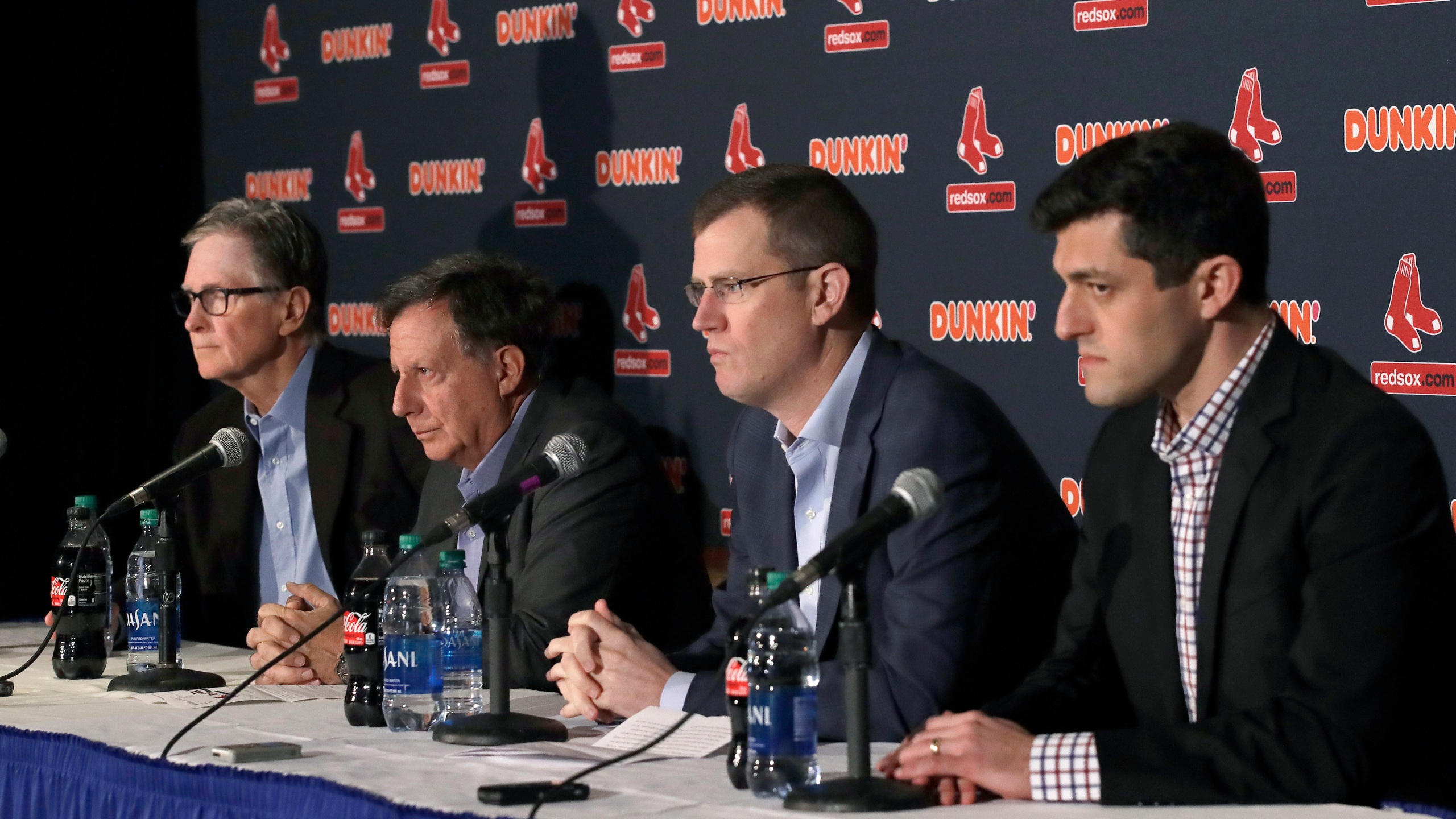 John Henry, Tom Werner, Sam Kennedy, Chaim Bloom