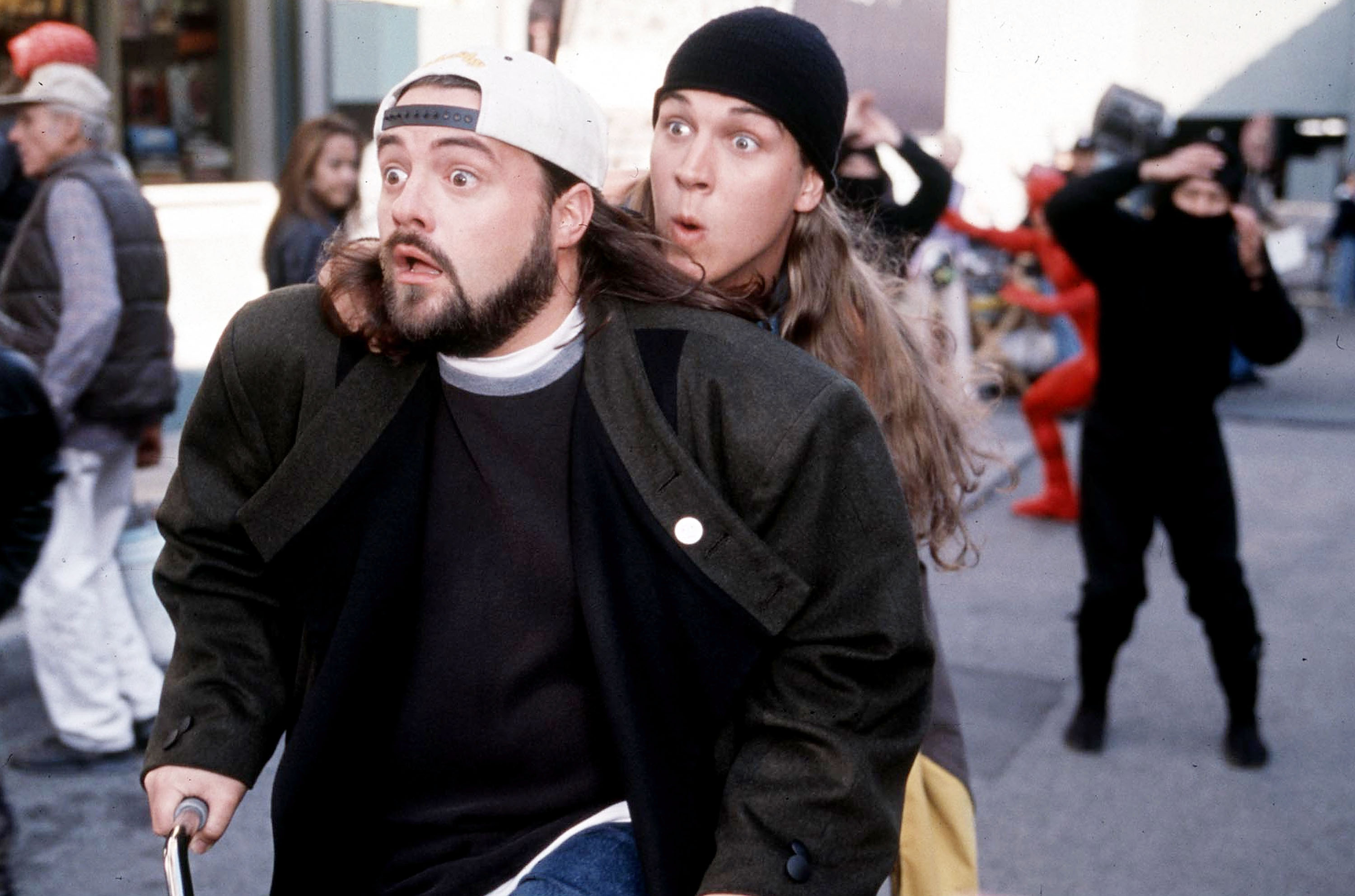Kevin Smith And Jason Mewes Of Jay And Silent Bob Coming To