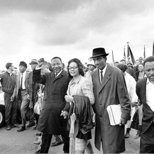Martin Luthur King Jr., Coretta Scott King