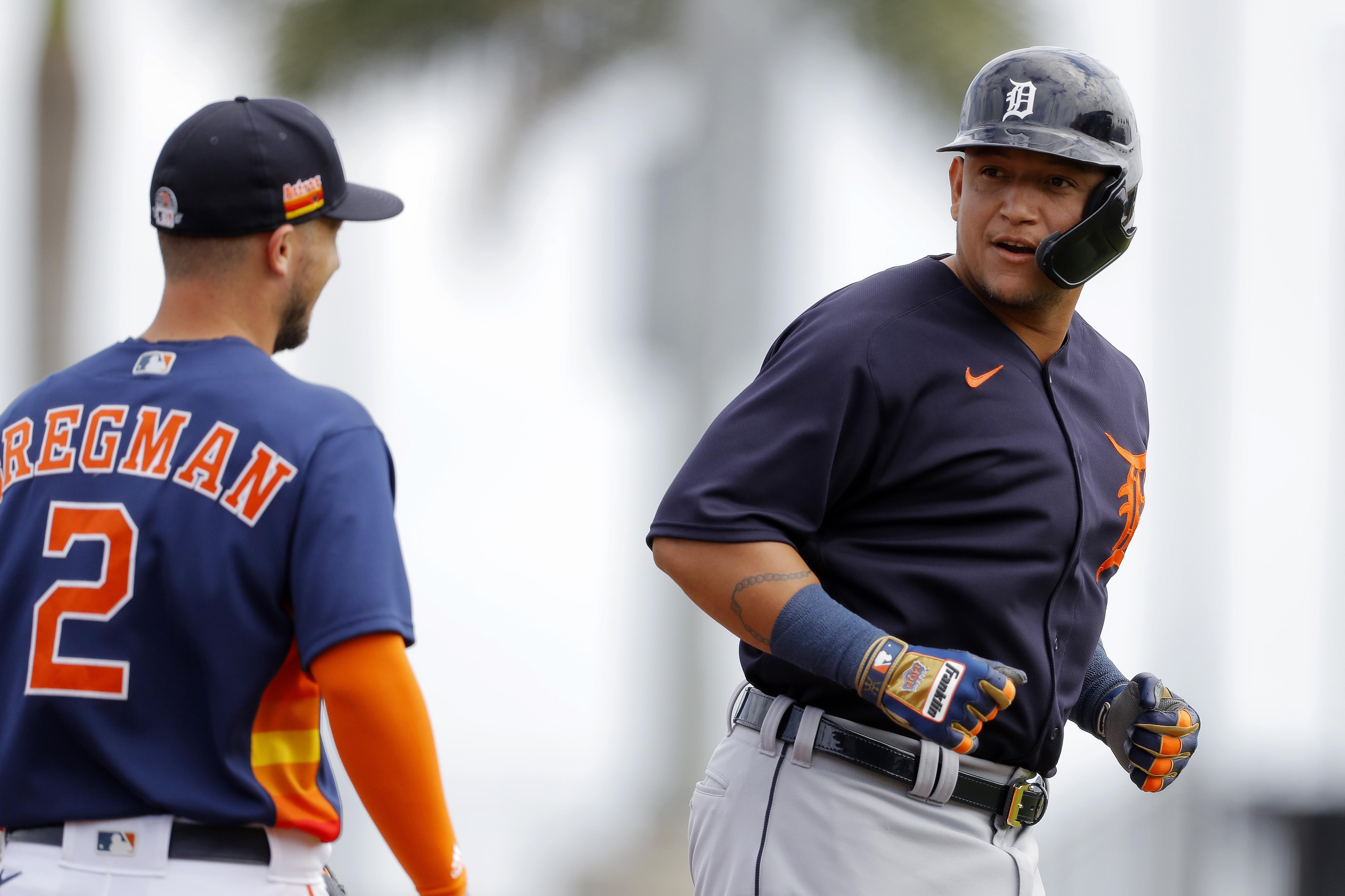 Miguel Cabrera Detroit Tigers Spring Training Baseball Player Jersey