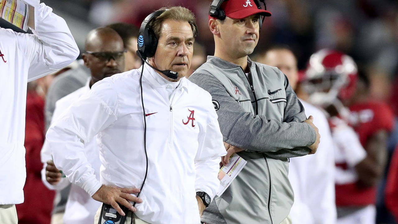 Alabama OC Steve Sarkisian underwent heart surgery last week, expected to make full recovery