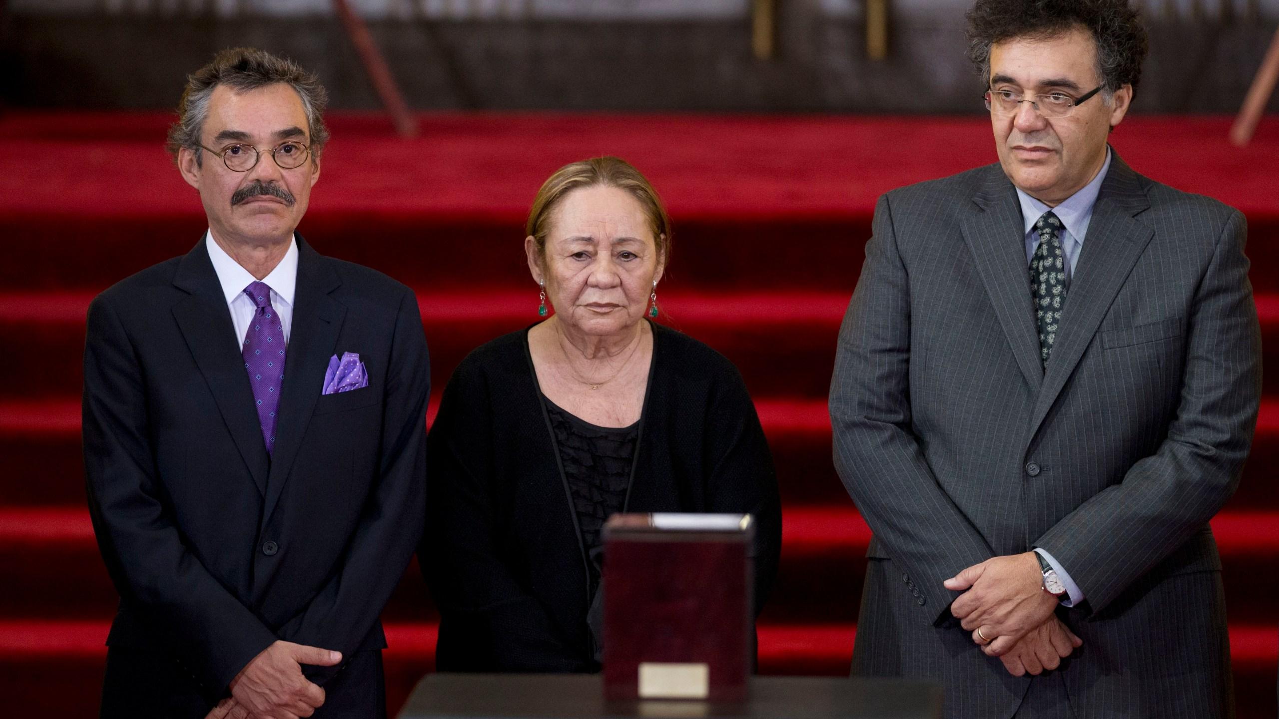Gonzalo Garcia, Mercedes Barcha, Rodrigo Garcia