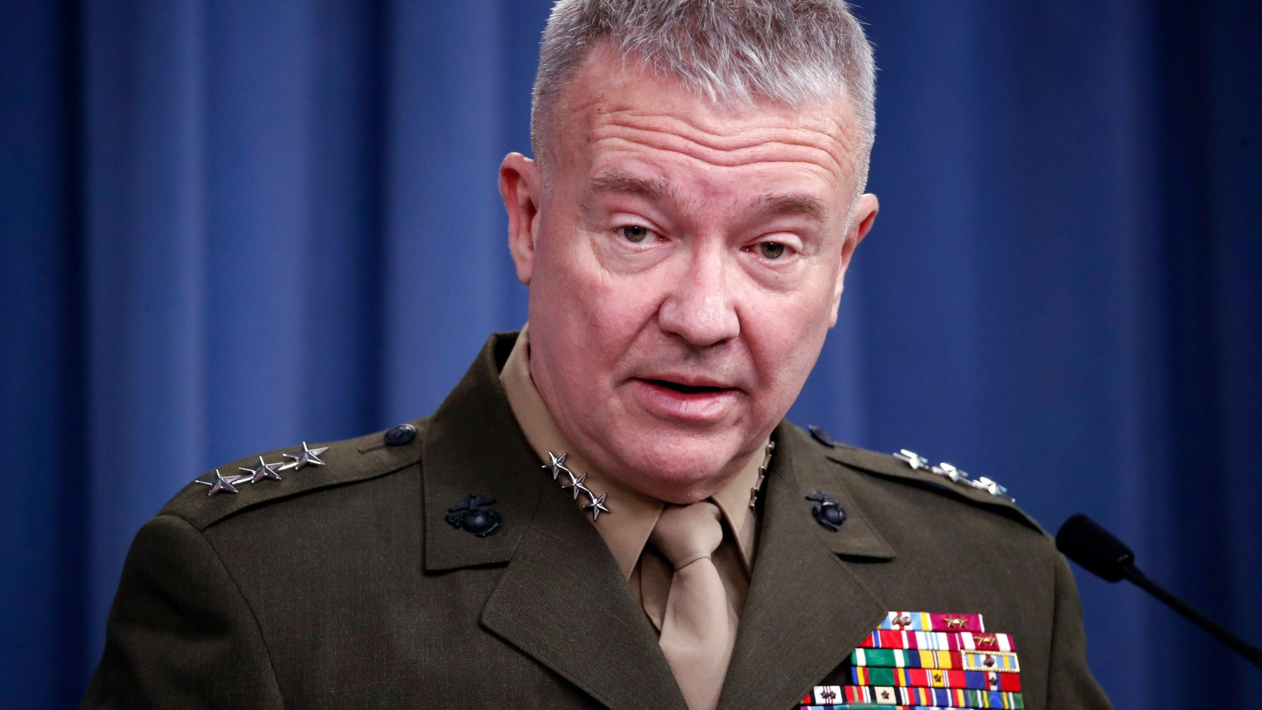 Kenneth F. McKenzie Jr., Frank