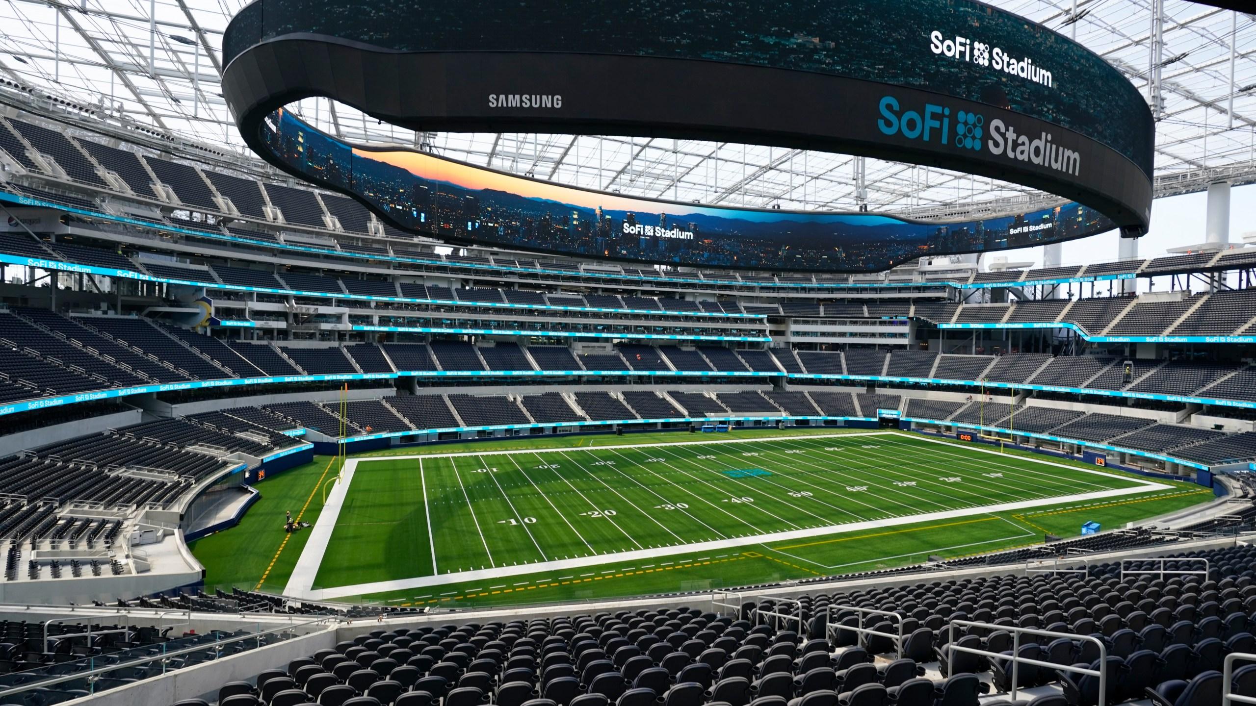 Innovative Ultramodern Sofi Stadium Ready To Welcome Nfl Cbs 42