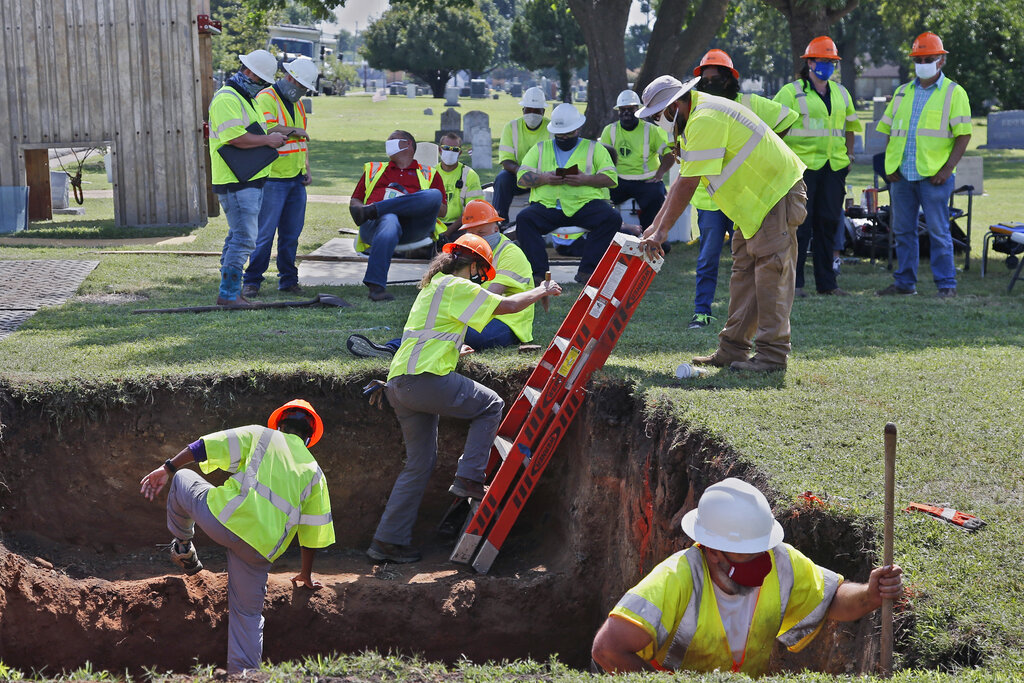 Tulsa digs again for victims of 1921 Race Massacre   CBS 42