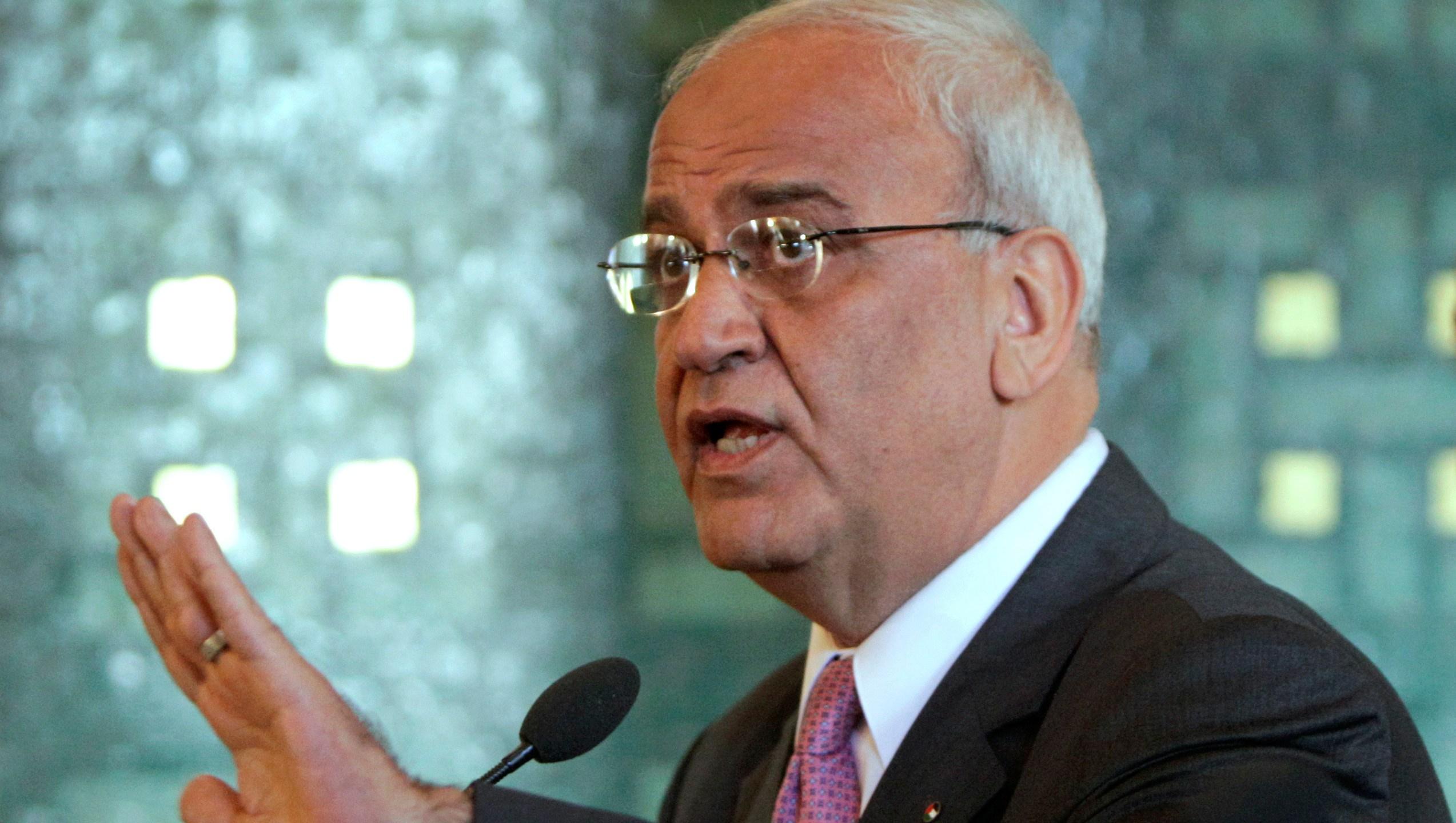 Saeb Erekat