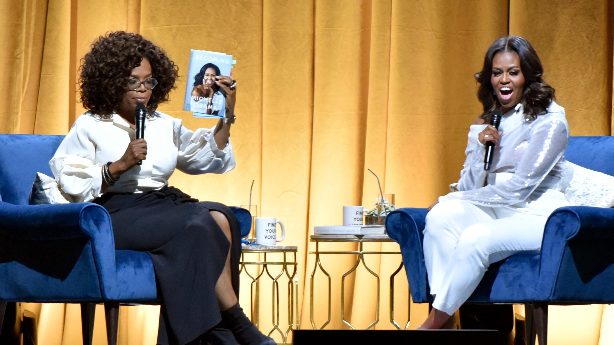 Michelle Obama, Oprah Winfrey