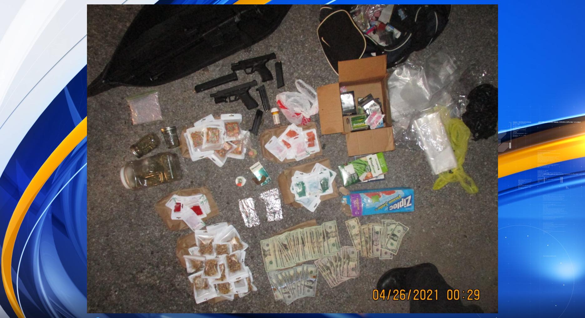4/25 Tuscaloosa drug bust
