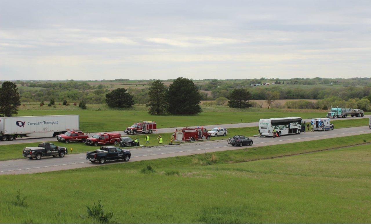 $570,000 of suspected drug money seized after minivan hits bus carrying Nebraska soccer team