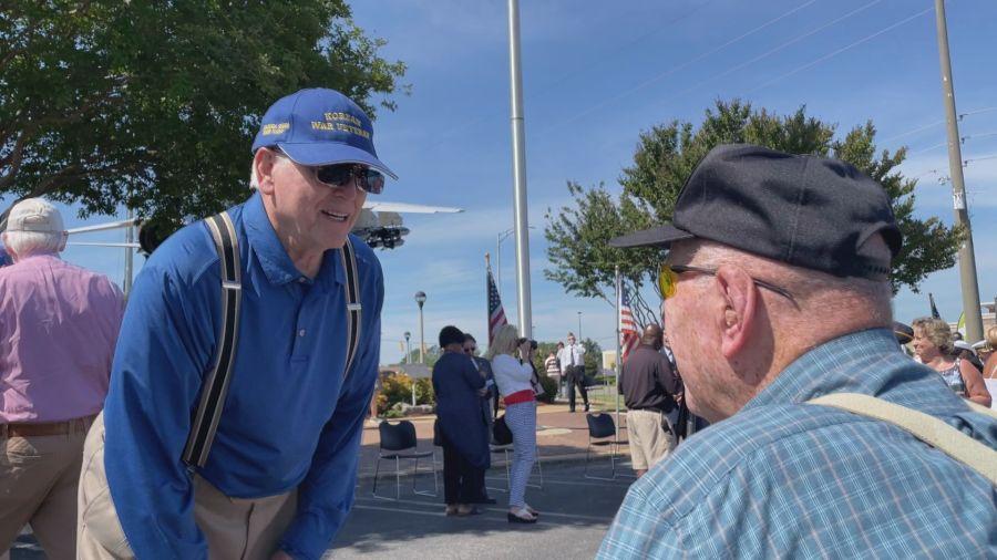 Veterans and community members congregated at Veterans Memorial Park in Tuscaloosa to obseve Memorial Day.