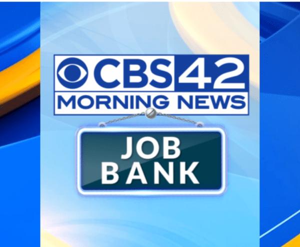 CBS 42 job Bank