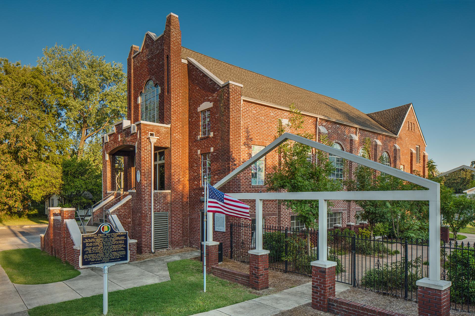 Historic Bethel Baptist Church in Collegeville