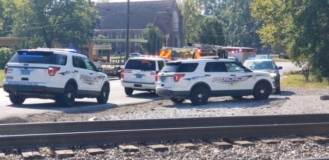 Pedestrian struck by train Birmingham